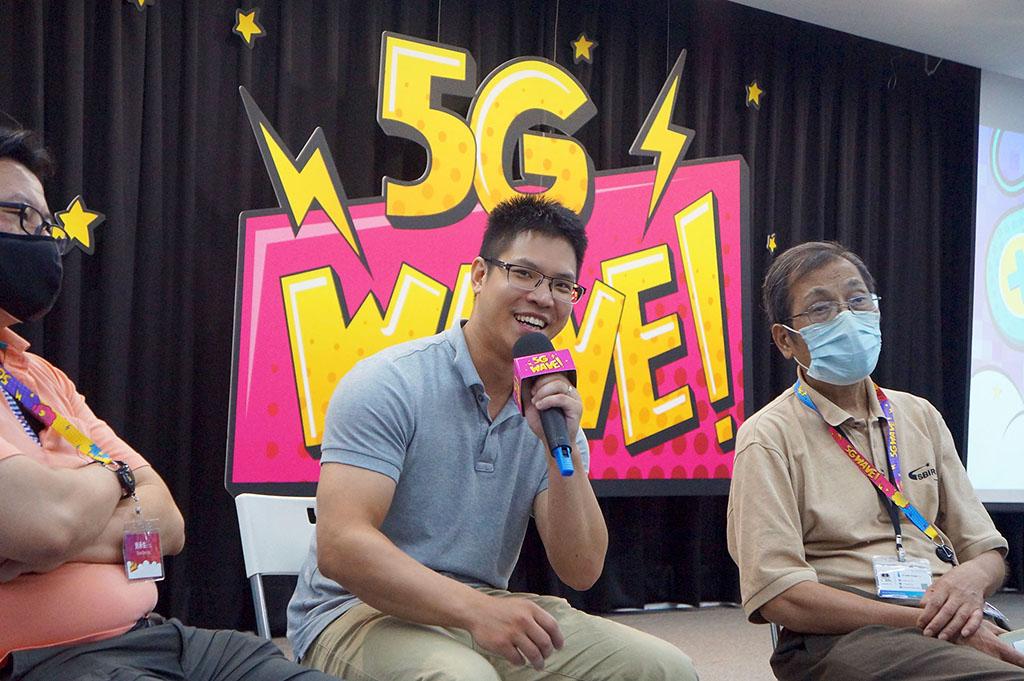5G의 발전을 추진하고 있다