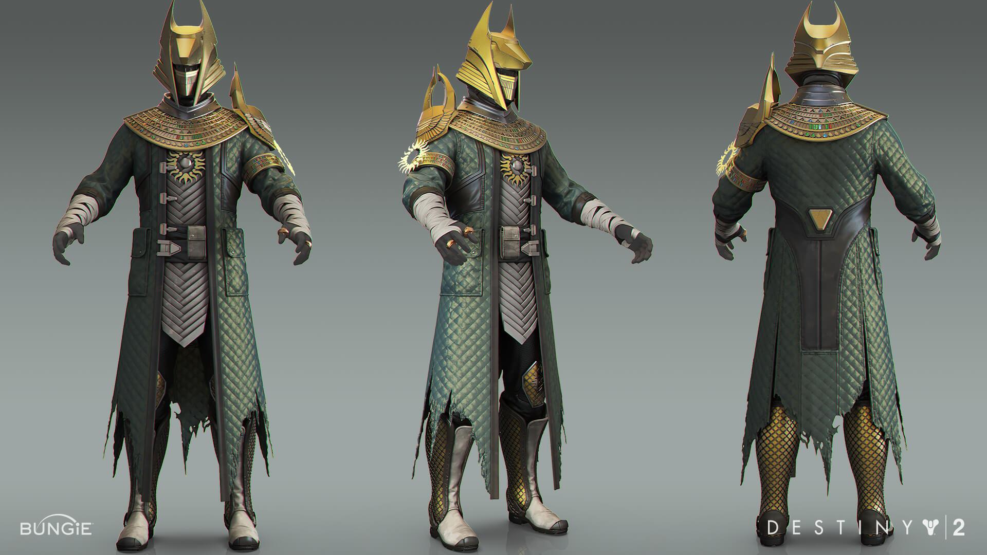 Destiny 2 - 3D 모델링