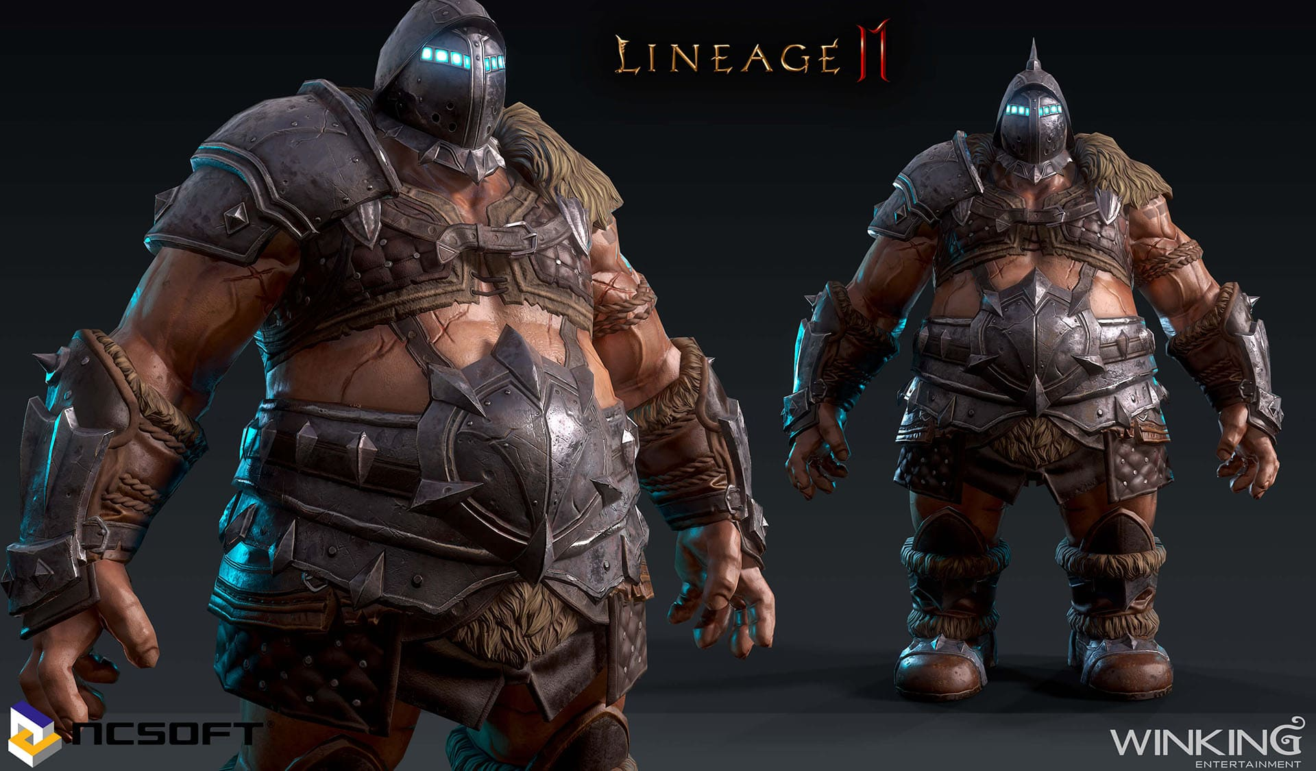 Lineage II M - 3D 모델링