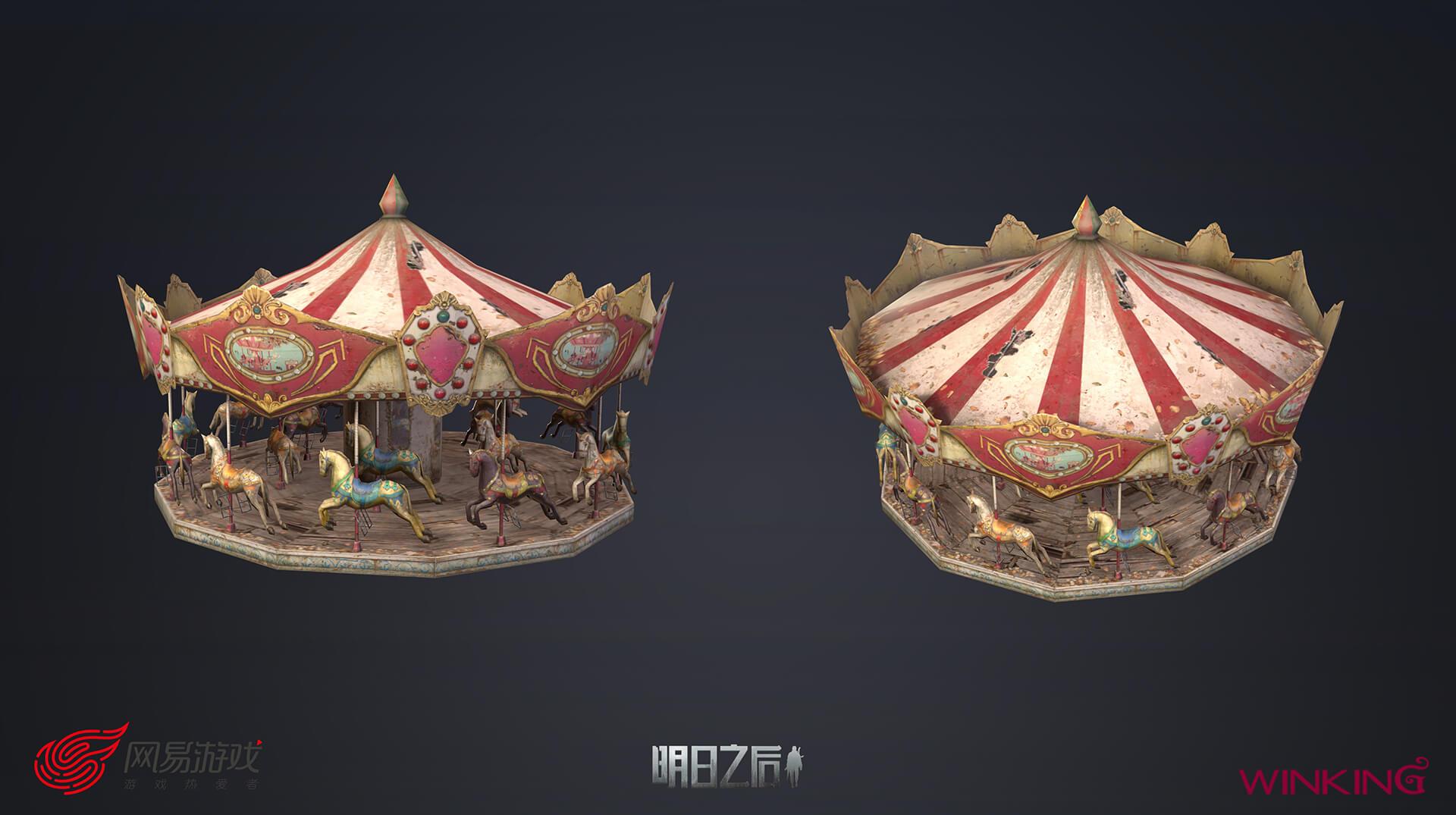 LifeAfter - 3D 모델링