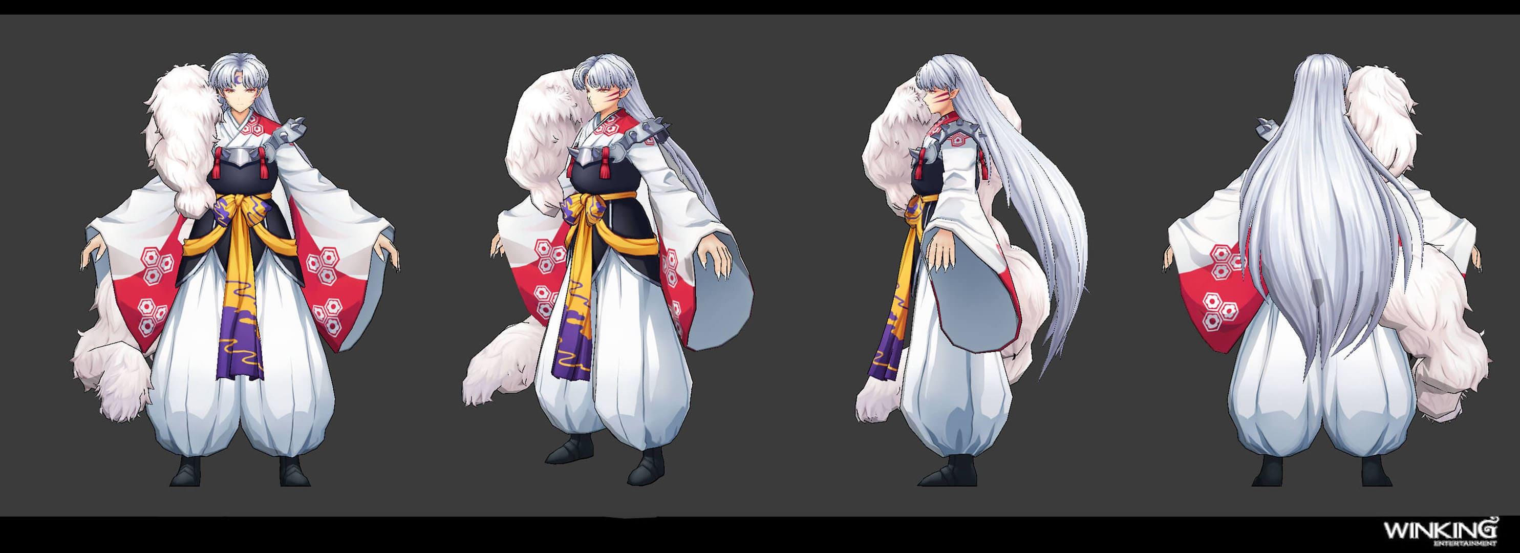 Inuyasha: Battle of Naraku  - 3D 모델링